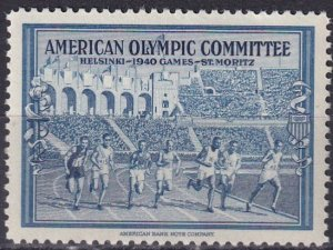 US American Olympic Committee 1940  MNH (S10206)