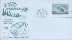 1079 3c SALMON - Collectors Club of Seattle