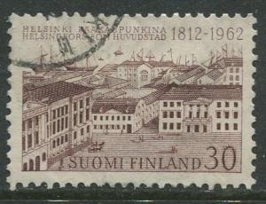 Finland - Scott 392 - Senate Palace Helsinki -1962- Used - Single 30m Stamp