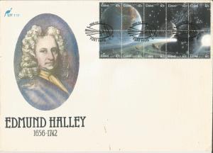 CISKEI, 1986, FDC 12c, Halley's Comet, Scott 89