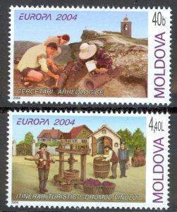 Moldova Sc# 467-468 MNH 2004 Europa