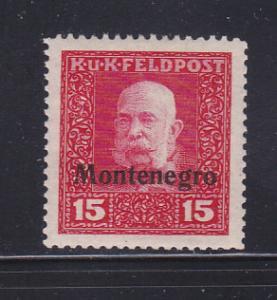 Montenegro 1N4 MHR Austrian Occupation