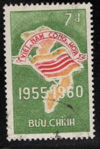 Viet Nam  Scott 149  Used Flag stamp