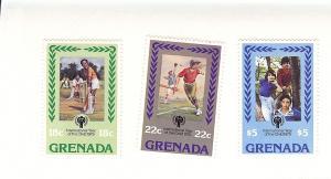 Grenada, 917-19, International Year of Child Singles, MNH