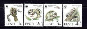 Estonia 270-73 MNH 1994 W.W.F.