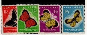 Cuba C185-C188 Mint Never Hinged