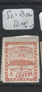 ARGENTINA  (PP0606B)  5C SC 1B  MOG