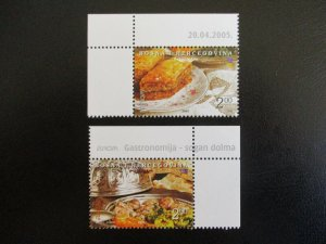 Bosnia and Hercegovina #496-97 Mint Never Hinged (M7O4) - Stamp Lives Matter!