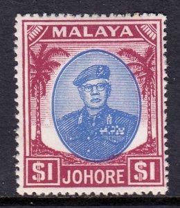 Malaya (Johore) - Scott #148 - MH - Toning spot - SCV $9.00