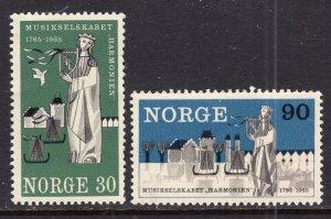 Norway 477-478 MNH VF