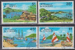 St Vincent Grenadines #65-8 F-VF Used (ST347)