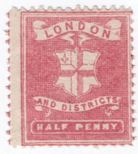 (I.B) Cinderella Collection : Circular Delivery Company (London & Districts ½d)