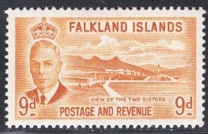 FALKLAND ISLANDS SCOTT 114