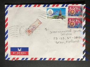 Indonesia #780//B242 Cover to Finland (1970-1999) Cover #3241