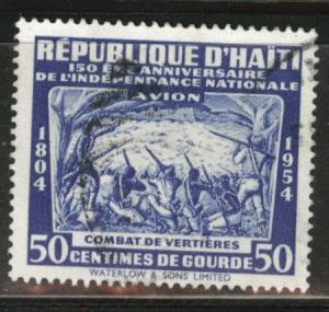 Haiti  Scott C73 Used 1954 stamp