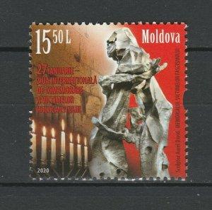 Moldova 2020 Holocaust Remembrance Day MNH stamp