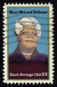 US #2137 Mary McLeod Bethune; Used (0.25)