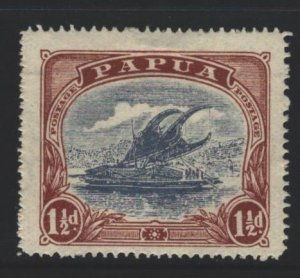 Papua New Guinea Sc#62 MH - pencil on reverse