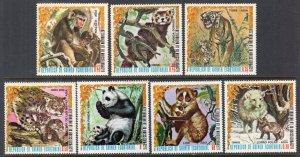 Equatorial Guinea 7694-7700 Animals MNH VF