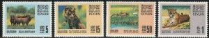 Ceylon, #439-442  MH From 1970