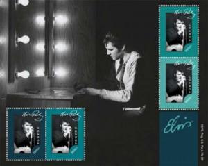 Uganda - Elvis Presley on Stamps - 4 Stamp  Sheet - UGA1208H