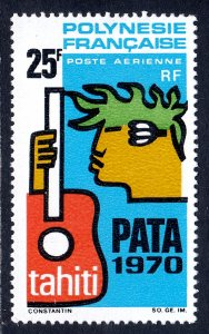 French Polynesia - Scott #C51 - MH - Hinge crease - SCV $17