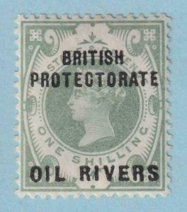 NIGER COAST - OIL RIVERS 6  MINT HINGED OG * NO FAULTS VERY FINE !