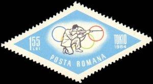 Romania #1665-1672, Complete Set(8), 1964, Olympics, Never Hinged