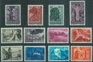 88229 - LIECHTENSTEIN - STAMPS -  ALL STAMPS from Yvert # 339  to 352   MNH