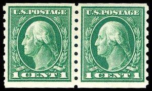 U.S. WASH-FRANK. ISSUES 412  Mint (ID # 76330)