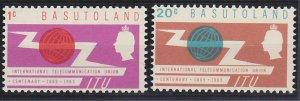 Basutoland 101-102 MNH (1965)