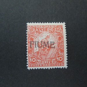 Italy Fiume 1918 Sc B1 MH