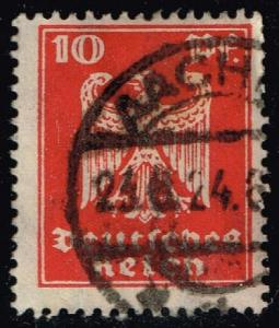 Germany #332 Eagle; Used (0.40)