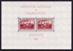 Luxembourg Dudelange Expo MS SG#MS359 SC#B85