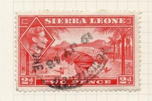 Sierra Leone 1938 Early Issue Fine Used 2d. 274756