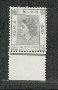 Hong Kong Sc#193 M/NH/VF, Cv. $20