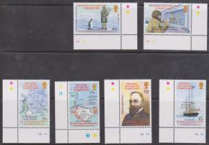 British Antarctic Territory Scott #316-321 Complete Mint - 2002