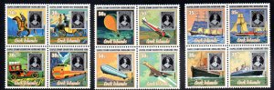 Cook Islands 550-552 MH cv $6.50 Ships Planes Cars