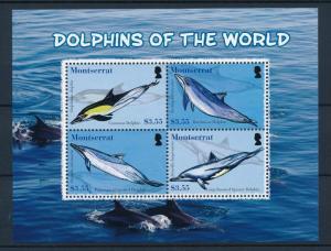 [40594] Montserrat 2008 Marine Life Dolphins MNH Sheet