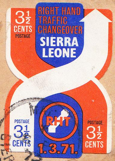 Sierra Leone #415  Used on Piece