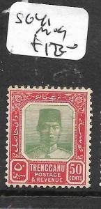 MALAYA TRENGGANU  (P2704B)  50C  SG 41  MOG