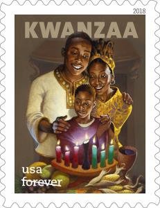 5337 Kwanzaa Forever Single Stamp Mint/nh Free Shipping