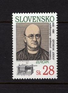 Slovakia #180 (1994 Europa Murgas issue) VFMNH CV $3.25
