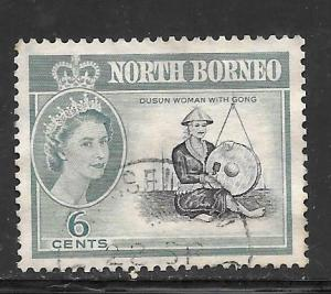 North Borneo #283 Used Single