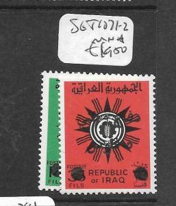 IRAQ (P1902BB)   SG T1071-2      MNH