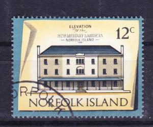 Norfolk Island 1973 Historic Buildings 12c used