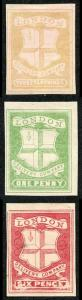 Circular Delivery Stamps of London three Forgeries