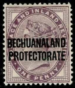BECHUANALAND SG61, 1d lilac, LH MINT.