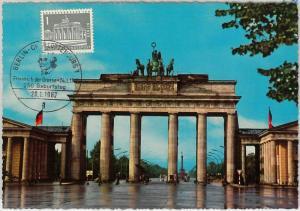 57223  -  GERMANY  Berlin  - POSTAL HISTORY: MAXIMUM CARD 1962 - ARCHITECTURE