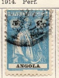 Angola 1922 Early Ceres  Issue Fine Used 5c. 139709